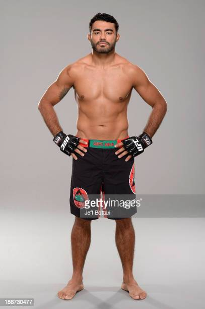 Rafael Natal poses for a portrait during a UFC photo session on November 3 2013 in Nashville Tennessee