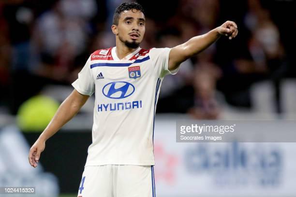 Rafael Pereira Da Silva of Olympique Lyon during the French League 1 match between Olympique Lyon v Strasbourg at the Parc Olympique Lyonnais on...