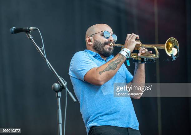 Mark Kelley of The Roots performs on stage at the Cruilla Festival 2018 held at the Forum on July 14 2018 in Barcelona Spain