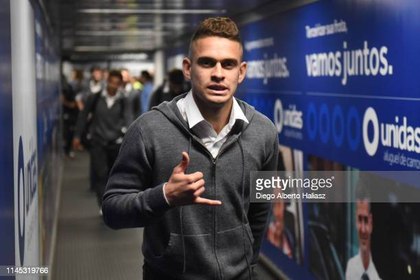 Rafael Santos Borre of River Plate arrives to Brazil May 20 2019 in Curitiba Brazil River Plate will face Atletico Paranaense as part of Recopa...