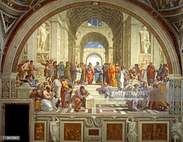 Rafael Sanzio da Urbino The School of Athens or Scuola di Atene in Italian is one of the most famous paintings by the Italian Renaissance artist...