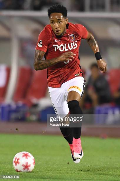 Rafael Silva of Urawa Red Diamonds in action during the 97th Emperor's Cup second round match between Urawa Red Diamonds and Gurlla Morioka at Urawa...