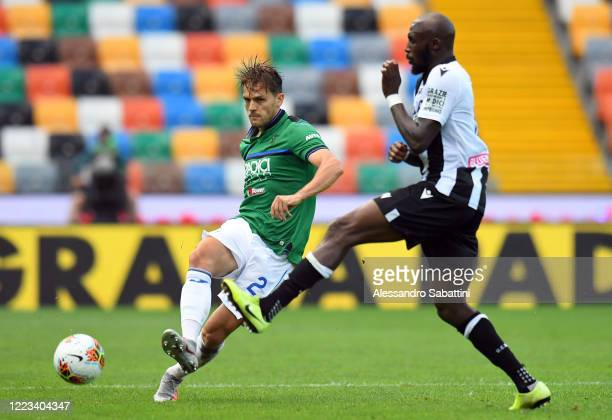 Rafael Toloi of Atalanta BC in action during the Serie A match between Udinese Calcio and Atalanta BC at Stadio Friuli on June 28 2020 in Udine Italy