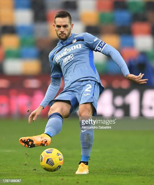 Rafael Toloi of Atalanta BC in action during the Serie A match between Udinese Calcio and Atalanta BC at Dacia Arena on January 20, 2021 in Udine,...