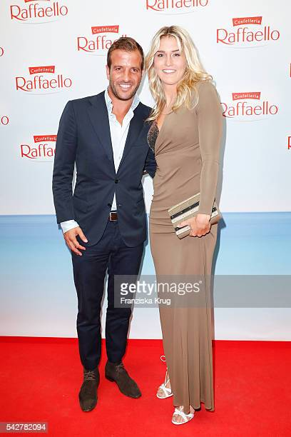 Rafael van der Vaart and Estavana Polman attend the Raffaello Summer Day 2016 to celebrate the 26th anniversary of Raffaello on June 24 2016 in...