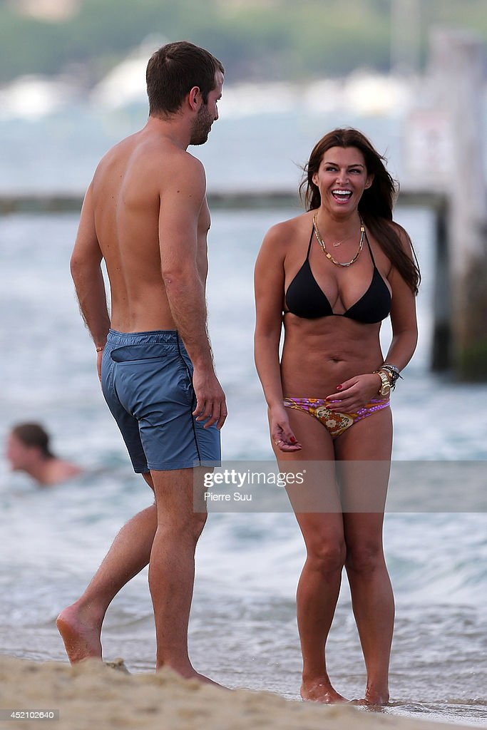 Celebrity sighting on french riviera photos and images getty images rafael van der vaart and his girlfriend sabia boulahrouz at pampelonne beach on july 13 altavistaventures Choice Image