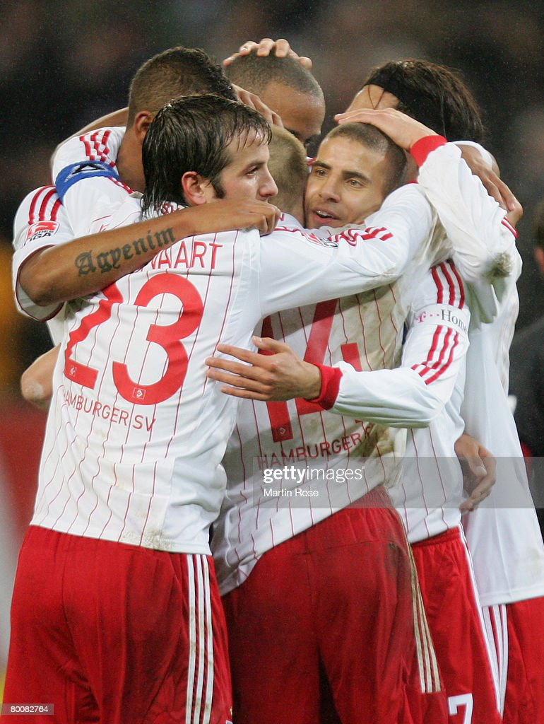Rafael van der Vaart, Mohamed Zidan, David Jarolim and ...  Rafael van der ...