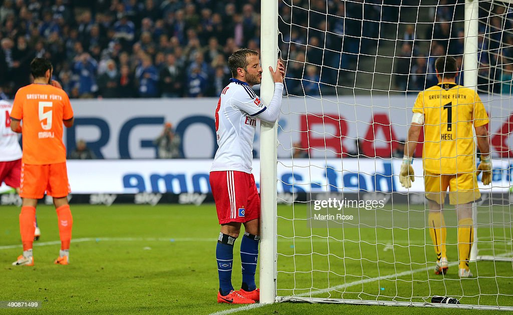 Hamburger SV v Greuther Fuerth - Bundesliga Playoff First Leg