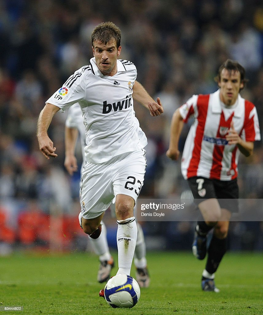 Rafael Van Der Vaart of Real Madrid in action during the La Liga ... 96c2d88bce26b
