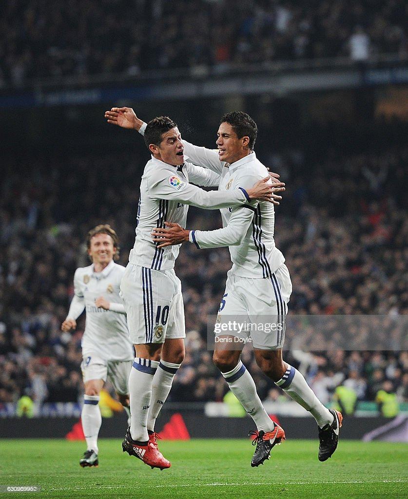 Real Madrid v Sevilla - Copa del Rey: Round of 16 First Leg