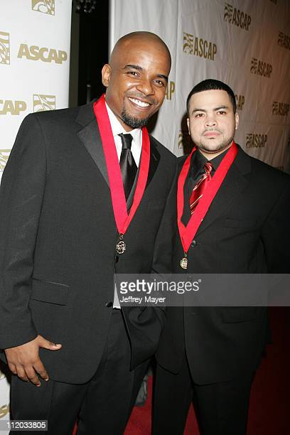 Rafael Vargas and Winston Rosa during ASCAP El Premio Music Awards at Beverly Hilton Hotel in Beverly Hills California United States