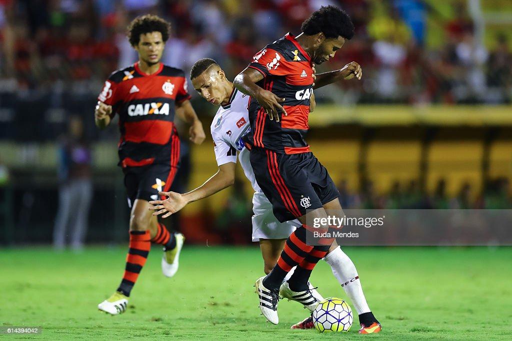 Fluminense v Flamengo - Brasileirao Series A 2016 : News Photo