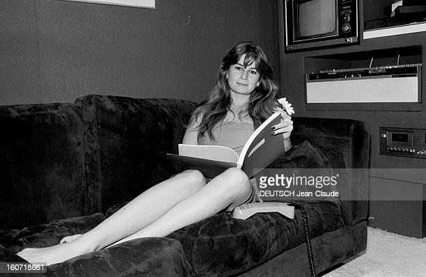 Rafaella De Laurentiis 1979 portrait de Raffaella DE LAURENTIIS productrice de cinéma et fille du producteur de cinéma italien Dino DE LAURENTIIS et...