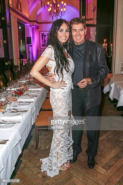 Rafaella Slyusareva and Jack White at their Wedding Party on December 17 2015 in Berlin Germany