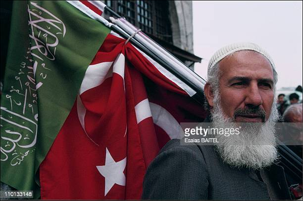 Rafah party activist in Istanbul Turkey in October 1995