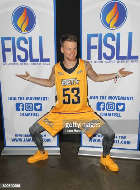 Rafal 'Lipek' Lipinski at the Celebrity Basketball Game presented by Sprite and State Farm during the 2017 BET Experience at Los Angeles Convention...