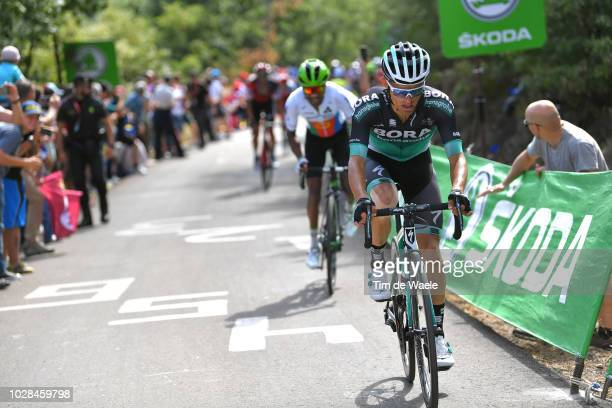 Rafal Majka of Poland and Team Bora - Hansgrohe / during the 73rd Tour of Spain 2018, Stage 13 a 174,8km stage from Candas. Carreno to Valle de...