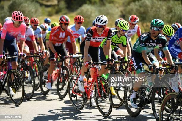 Rafal Majka of Poland and Team Bora Hansgrohe / Peter Stetina of The United States and Team Trek Segafredo / during the 99th Volta Ciclista a...