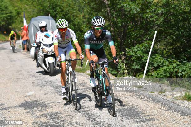 Rafal Majka of Poland and Team Bora Hansgrohe / Warren Barguil of France and Team Fortuneo Samsic / during the 105th Tour de France 2018 Stage 12 a...