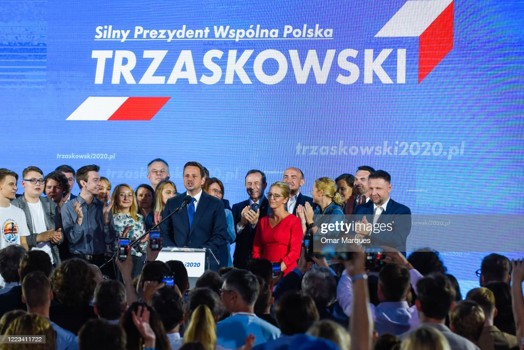 Poland Holds Presidential Election : News Photo