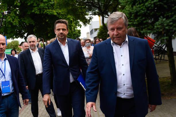 POL: Campaign Rally For Polish Presidential Challenger Rafal Trzaskowski