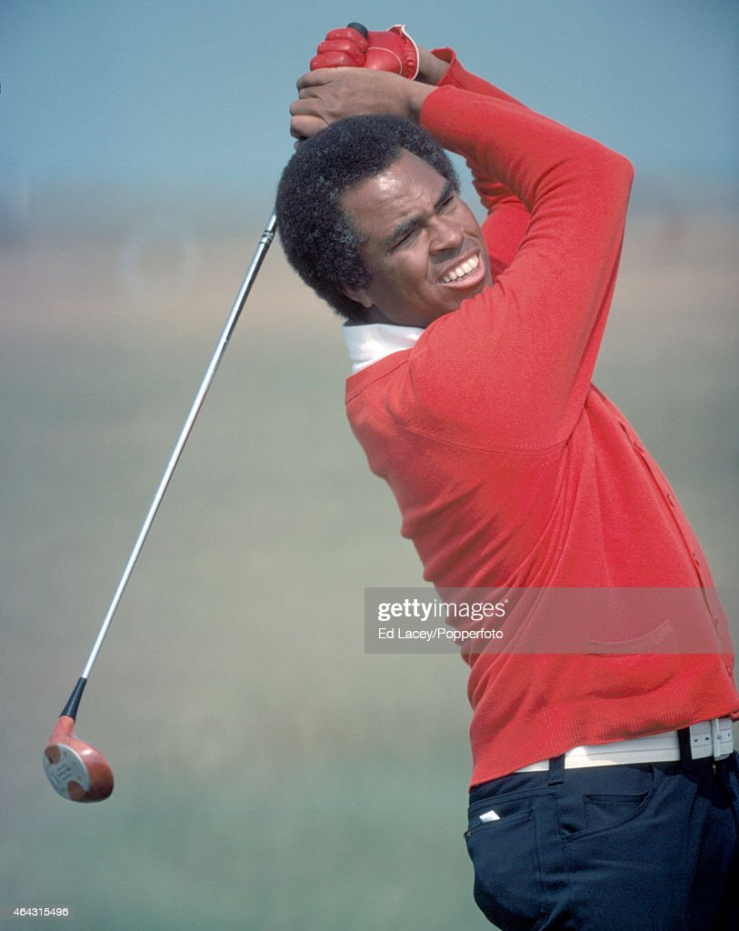 Rafe Botts of the United States in action during the Penfold PGA Golf Tournament at Sandwich on 28th May 1976.