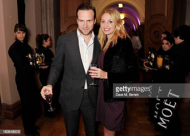Rafe Spall and Elize Du Toit attend the London Evening Standard British Film Awards supported by Moet Chandon and Chopard at the London Film Museum...