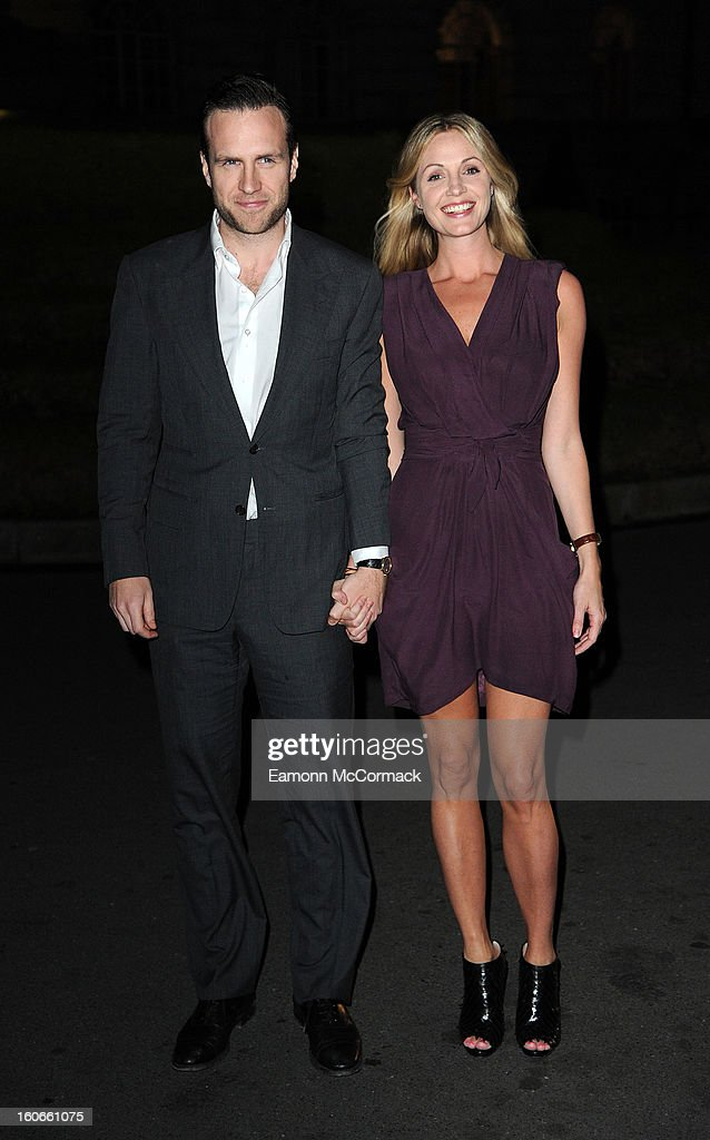 Rafe Spall and Elize du Toit attend the London Evening Standard British Film Awards at the London Film Museum on February 4, 2013 in London, England.