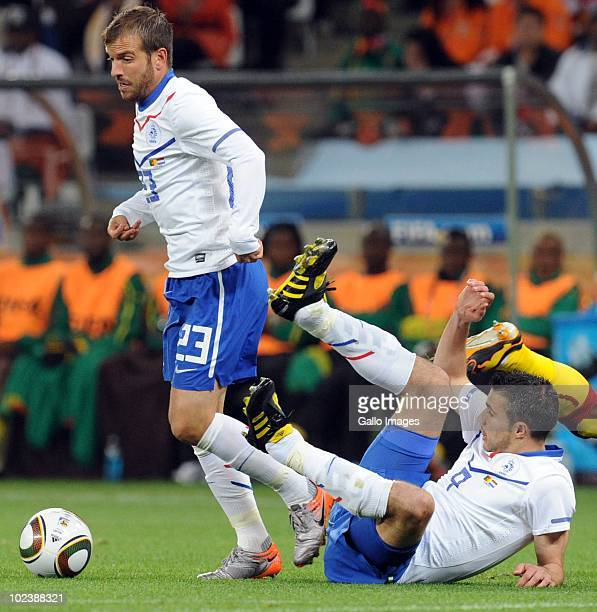 Rafeal van der Vaart of Netherlands during the 2010 FIFA World Cup South Africa Group E match between Cameroon and Netherlands at Cape Town Stadium...