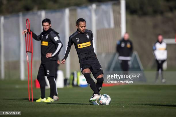 Raffael of Borussia Moenchengladbach in action during the Borussia Moenchengladbach Training Camp on January 09 2020 in Jerez de la Frontera Germany