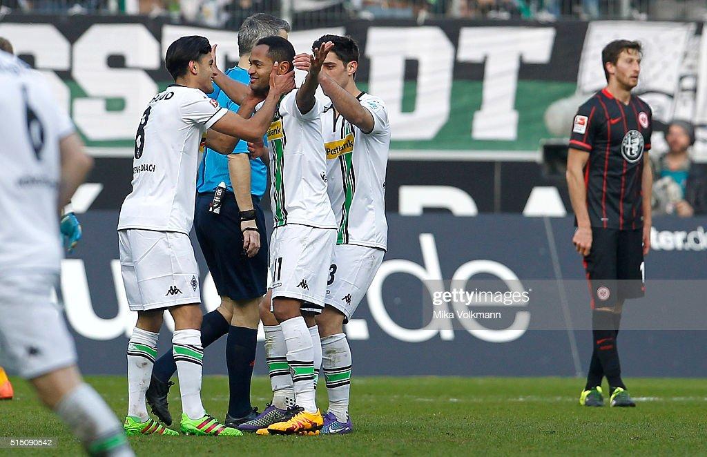 Borussia Moenchengladbach v Eintracht Frankfurt - Bundesliga : News Photo