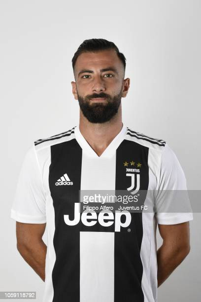 Raffaele Alcibiade during Juventus U23 Headshots at Juventus Center Vinovo on August 31 2018 in Vinovo Italy