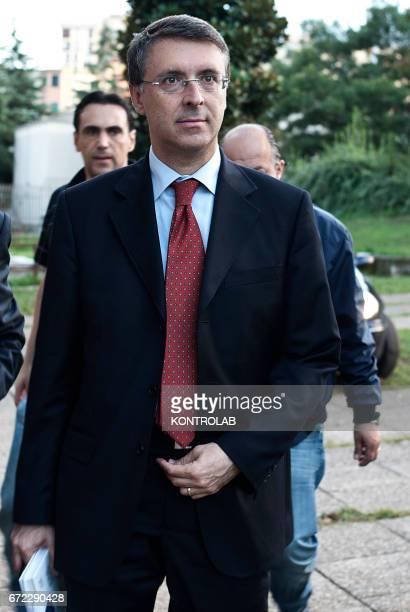 Raffaele Cantone the president of the Italian Anti-Corruption authority.