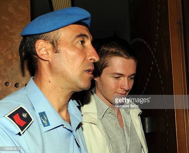 Raffaele Sollecito attends the appeal hearing on September 26 2011 in Perugia Italy Raffaele Sollecito is awaiting the verdict of the appeal that...