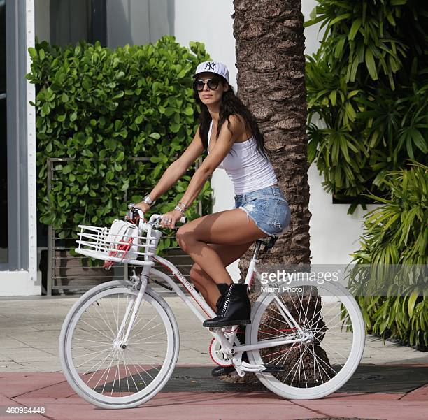 Raffaella Modugno is sighted on January 1 2015 in Miami Florida
