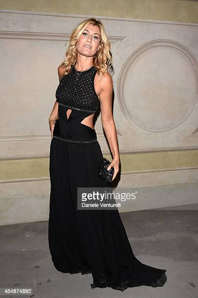 Raffaella Zardo attends 'Celebrity Fight Night In Italy' Gala at the Palazzo Vecchio on September 7 2014 in Florence Italy