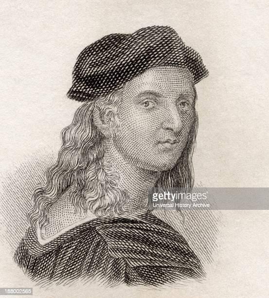 Raffaello Sanzio Da Urbino 1483 To 1520 Aka Raphael Italian Painter And Architect Of The High Renaissance From Crabb's Historical Dictionary...