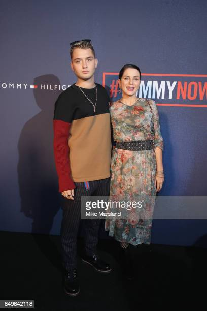 Rafferty Law and Sadie Frost attend the Tommy Hilfiger TOMMYNOW Fall 2017 Show during London Fashion Week September 2017 at the Roundhouse on...