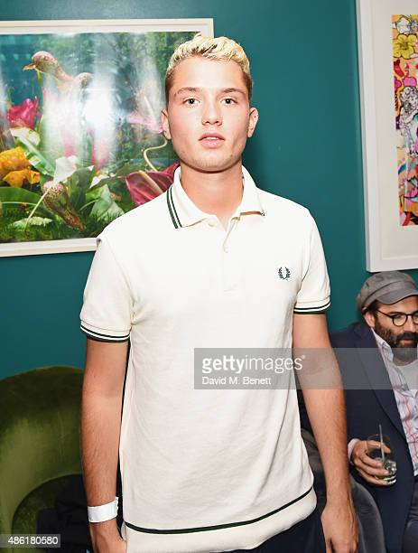 Rafferty Law attends the after party following the UK Premiere of 'Buttercup Bill' at The Groucho Club on September 1 2015 in London England