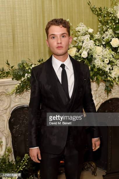 Rafferty Law attends the British Vogue and Tiffany Co Fashion and Film Party at Annabel's on February 2 2020 in London England