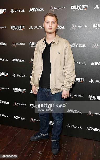 Rafferty Law attends the Call of Duty Black Ops III launch at One Mayfair on November 5 2015 in London England