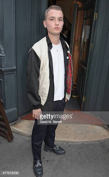 Rafferty Law attends the COACH Men's Spring 2016 Party hosted by Stuart Vevers Tinie Tempah and Dree Hemingway at The Lady Ottoline on June 13 2015...