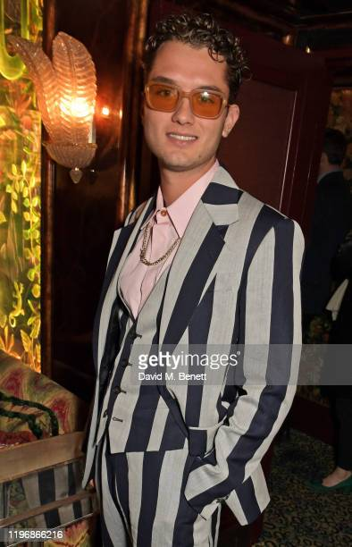 Rafferty Law attends the 'Country Town House Great British Brands' party at Annabel's on January 27 2020 in London England
