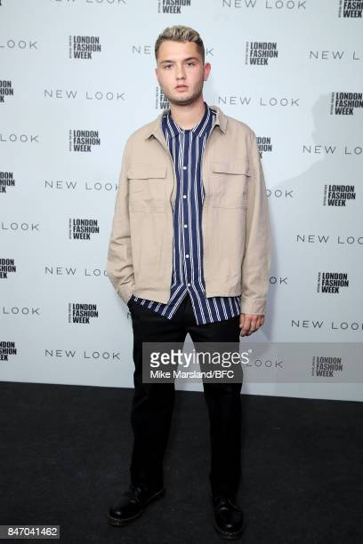Rafferty Law attends the New Look and the British Fashion Council LFW Launch Party during London Fashion Week September 2017 on September 14 2017 in...