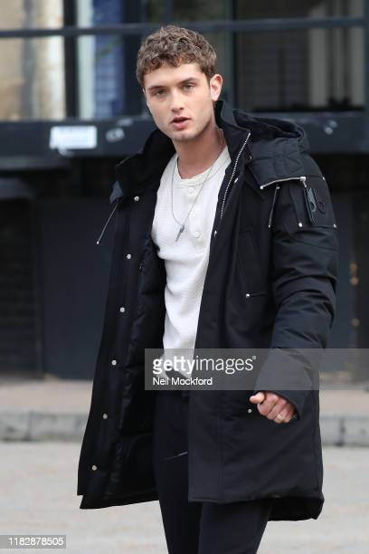 Rafferty Law seen on set of new Sky adaptation of Oliver Twist called 'Twist' on October 23 2019 in London England