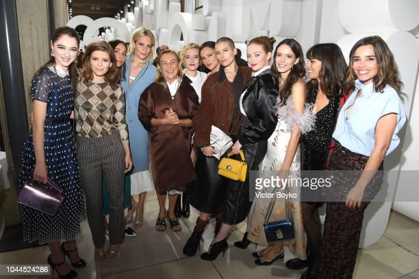 Raffey Cassidy, Kate Mara, Rebecca Dayan, Poppy Delevingne, Miuccia Prada, Julia Garner, Juliette Lewis, Dree Hemingway, Larsen Thompson, Stacy...