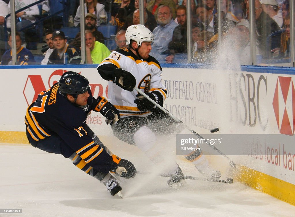 Boston Bruins v Buffalo Sabres - Game One