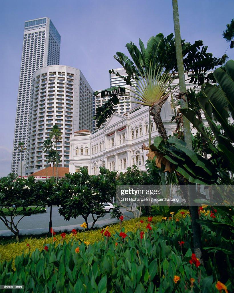 Raffles Hotel, Singapore, Asia : Stockfoto