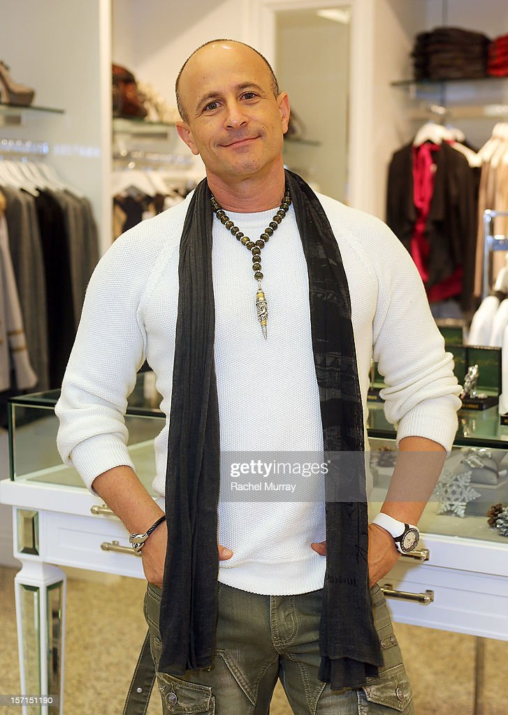Rafi Anteby, Bullets 4 Peace designer and creator attends Kyle By Alene Too holiday shopping event featuring Bullets For Peace benefiting Safe Passage Charity on November 28, 2012 in Beverly Hills, California.