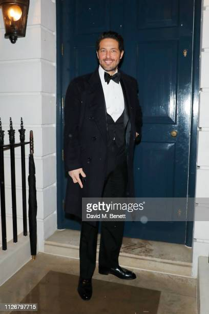 Rafic Said attends the SGC Wine circle Dinner extravaganza at Oswald's organized by Arnaud Christiaens on February 01 2019 in London England